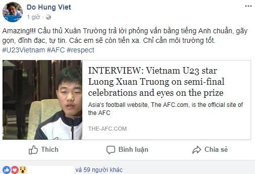 Xuan Truong U23 Viet Nam anh 1
