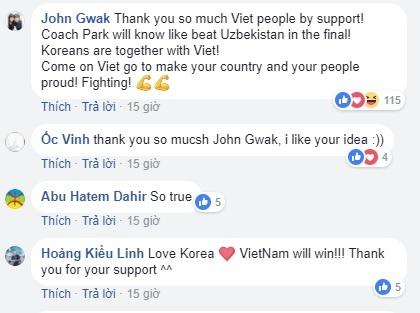 Dan mang Han Quoc co vu Viet Nam sau tran doi nha thua U23 Uzbekistan hinh anh 1