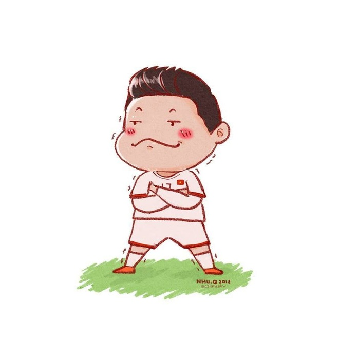 Trao luu che anh, bat chuoc dang an mung cua Van Thanh U23 Viet Nam hinh anh 5