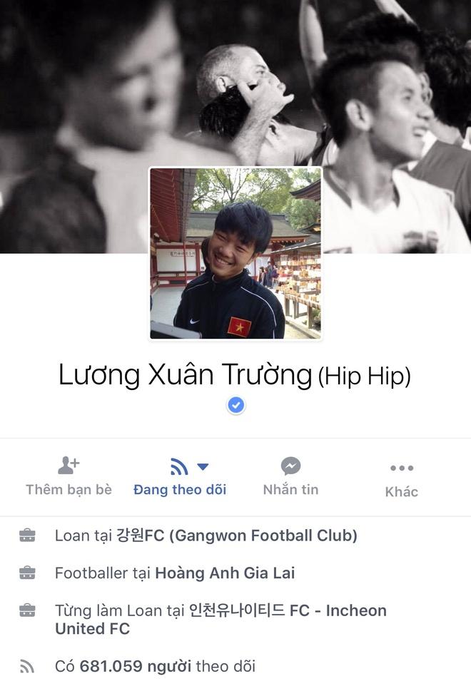 Facebook cau thu U23 tang chong mat, Tien Dung dat 2,5 trieu follow hinh anh 3