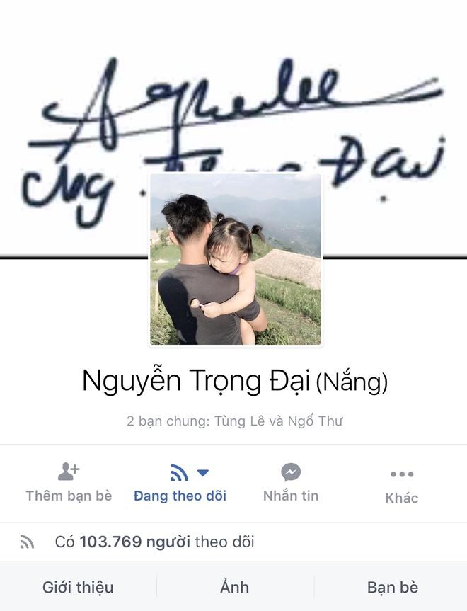 Facebook cau thu U23 tang chong mat, Tien Dung dat 2,5 trieu follow hinh anh 13