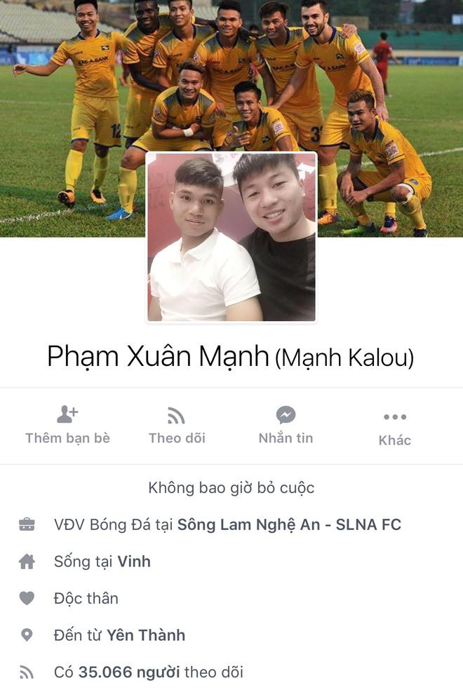 Facebook cau thu U23 tang chong mat, Tien Dung dat 2,5 trieu follow hinh anh 15