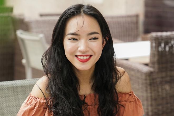 Hot girl Chau Bui: 'Minh tung bi nem vao thung rac' hinh anh