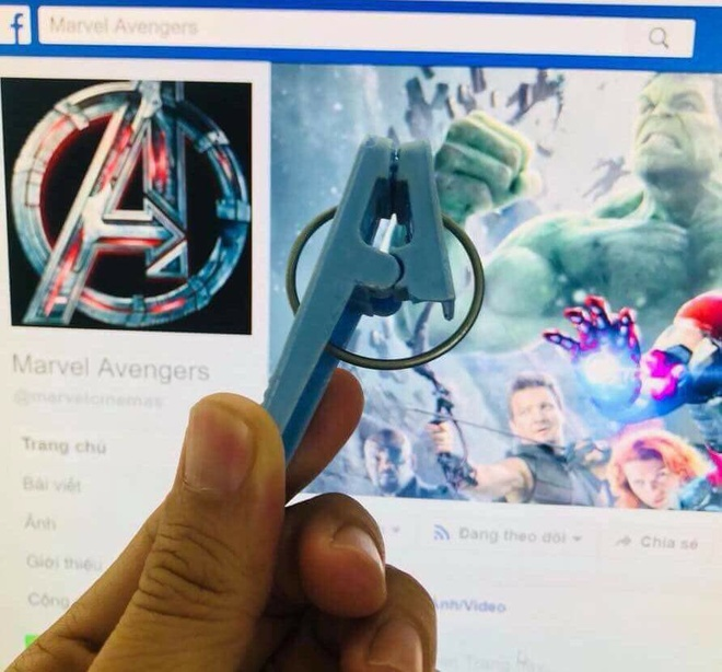 Dep to ong vo cuc va loat anh che hai huoc ve 'Avengers: Infinity War' hinh anh 12