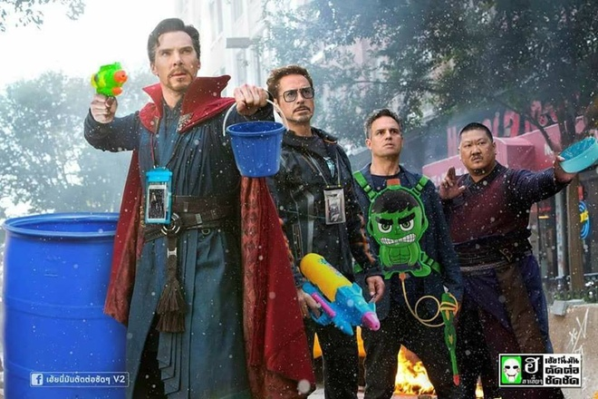Dep to ong vo cuc va loat anh che hai huoc ve 'Avengers: Infinity War' hinh anh 8