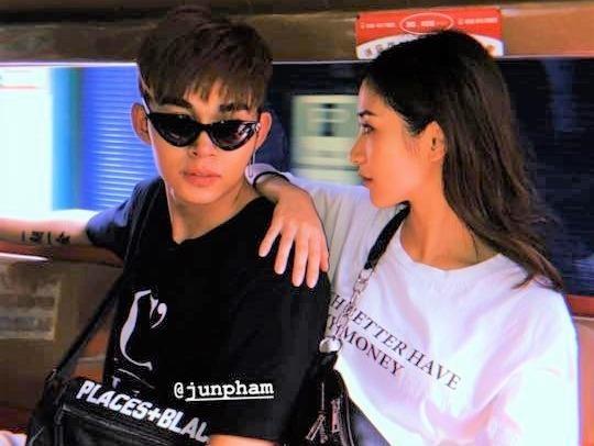 Jun Vu noi gi truoc loat anh cung Jun Pham ve khach san o Thai Lan? hinh anh