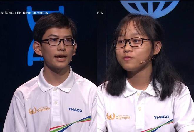 2 thi sinh san bang ky luc 17 nam cua 'Duong len dinh Olympia' hinh anh