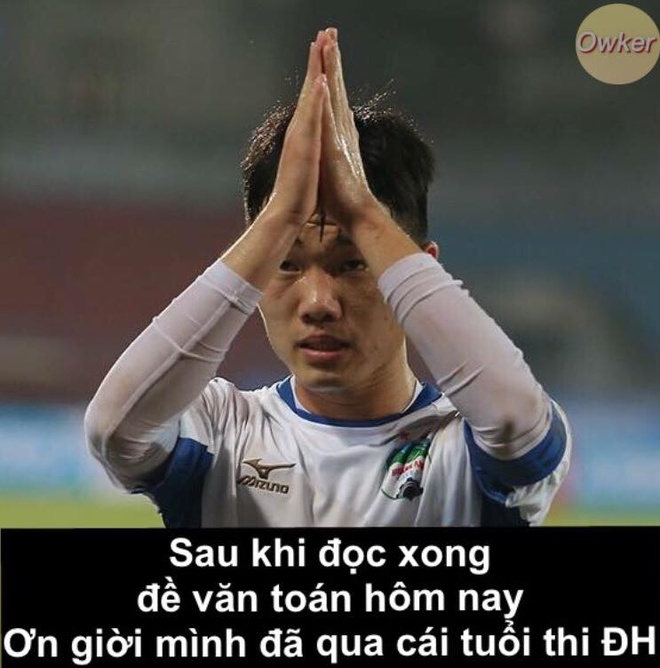 50 sac thai cua cau thu U23 Viet Nam khi thi THPT quoc gia 2018 hinh anh 2