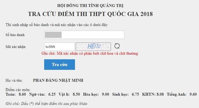 'Cau be Google' Phan Dang Nhat Minh dat 9,6 diem Tieng Anh hinh anh 1