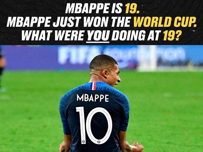 Mbappe vua vo dich World Cup, con ban nam 19 tuoi da lam duoc gi? hinh anh