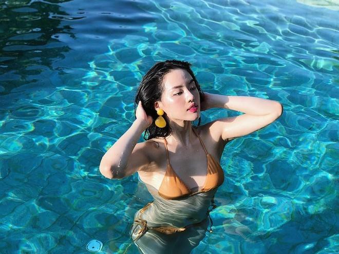 1.001 kieu tao dang nong bong voi bikini cua hot girl Viet hinh anh 7