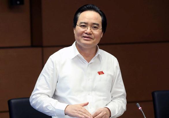 Bo truong Phung Xuan Nha: Phai tra lai cong bang cho hoc sinh hinh anh
