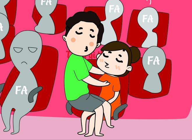 10 tinh huong neu gap 'chi muon phat dien' khi di xem phim rap hinh anh