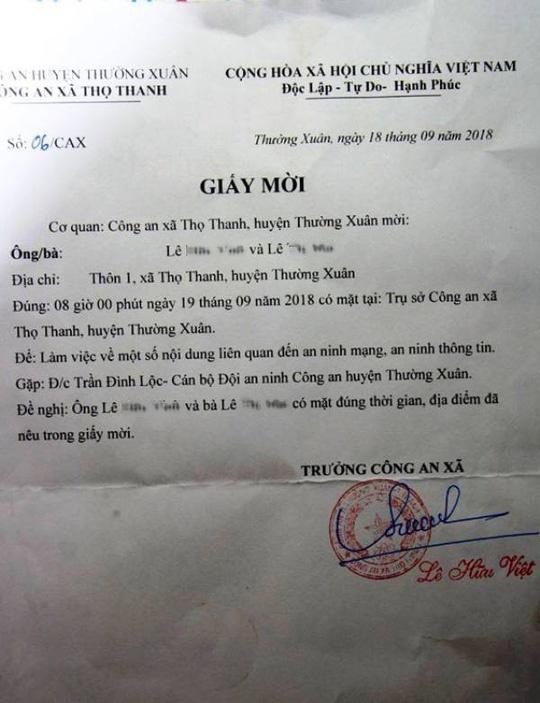 Thuc hu chuyen bi moi lam viec vi dang tin hop phu huynh len Facebook hinh anh 1