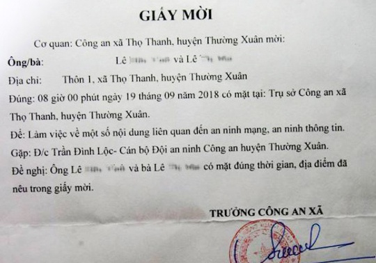 Thuc hu chuyen bi moi lam viec vi dang tin hop phu huynh len Facebook hinh anh