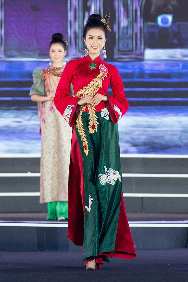A hau 2 Nguyen Thi Thuy An gioi tieng Nhat, la Miss Than thien Hutech hinh anh 3