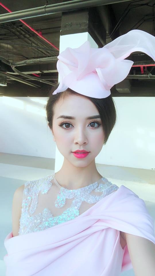 A hau 2 Nguyen Thi Thuy An gioi tieng Nhat, la Miss Than thien Hutech hinh anh 6