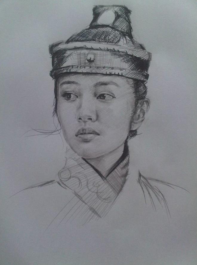 Chan dung nhan vat truyen Kim Dung song dong qua ngoi but 9X Ha Noi hinh anh 10