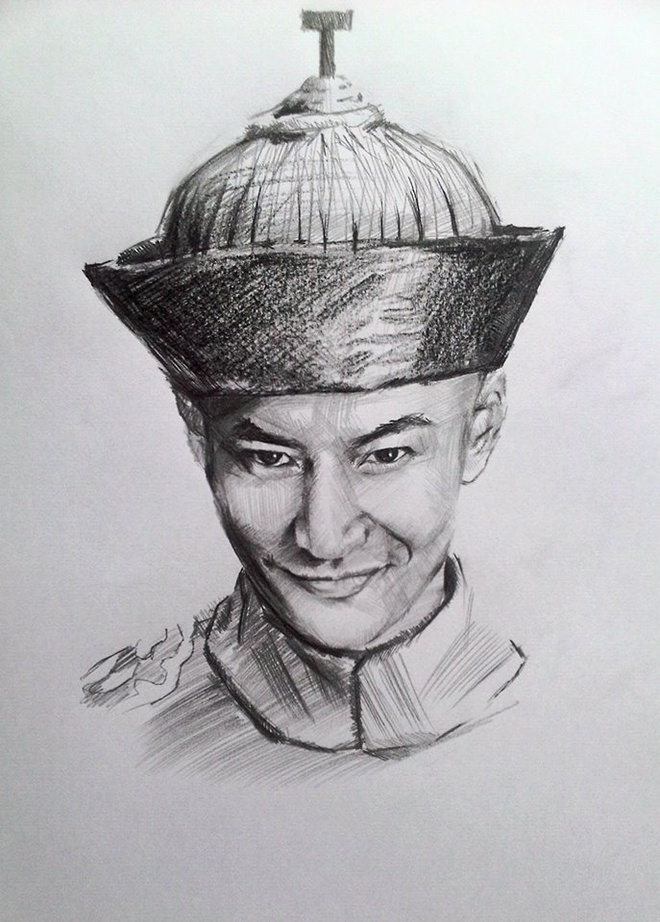 Chan dung nhan vat truyen Kim Dung song dong qua ngoi but 9X Ha Noi hinh anh 4