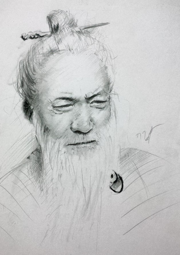 Chan dung nhan vat truyen Kim Dung song dong qua ngoi but 9X Ha Noi hinh anh 7