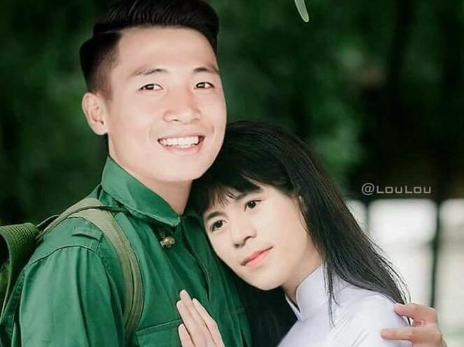 Loat anh 'tinh nhu binh' cua bo doi hau ve Tien Dung - Dinh Trong hinh anh
