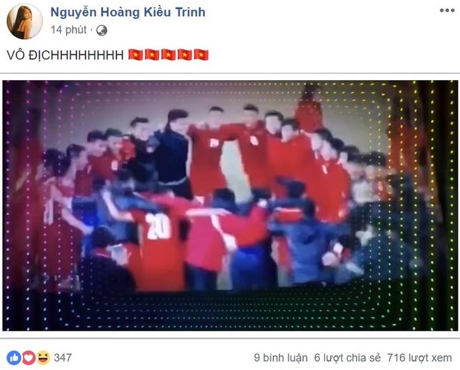 Cong dong mang chuc mung doi tuyen Viet Nam vo dich AFF Cup 2018 hinh anh 5