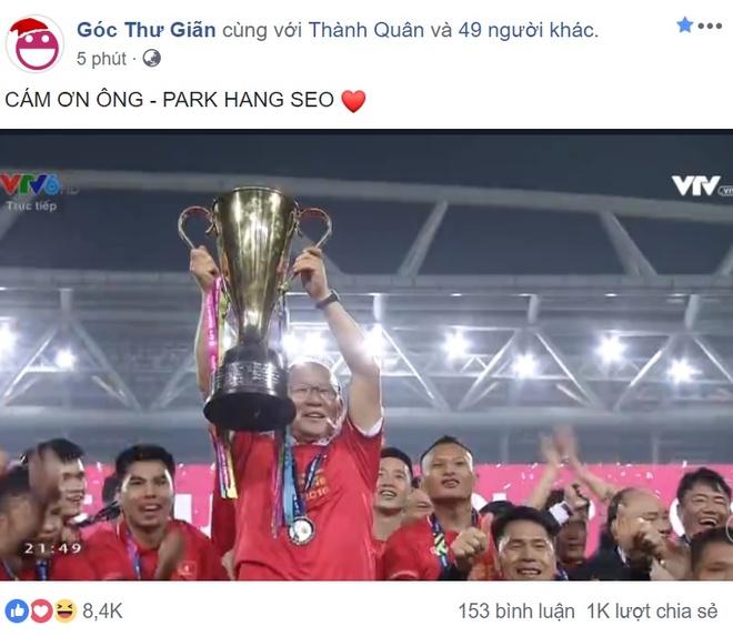 Cong dong mang chuc mung doi tuyen Viet Nam vo dich AFF Cup 2018 hinh anh 6