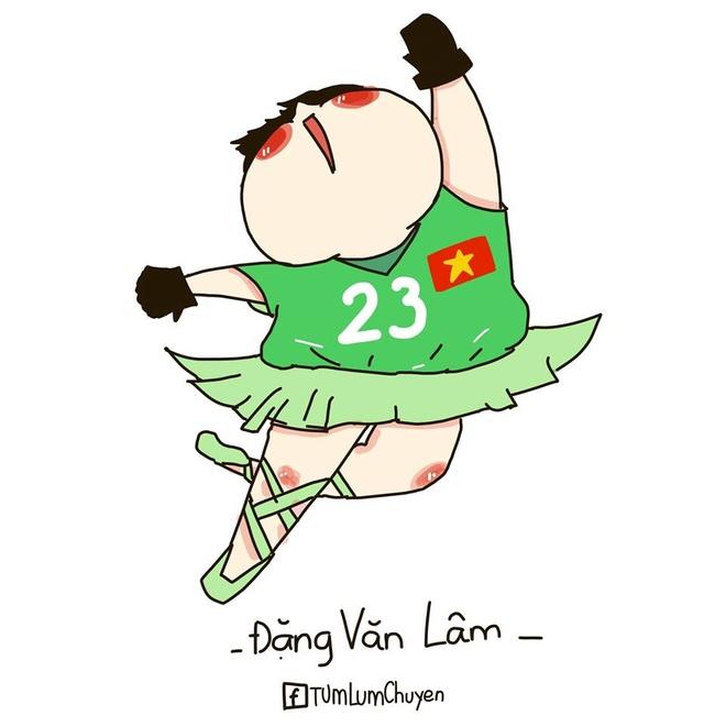 Tranh vui Van Lam bat bong dieu nghe, khoe co cha la nghe si mua hinh anh 5