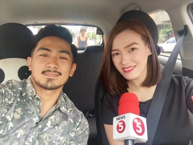 hot girl Uber Philippines anh 1