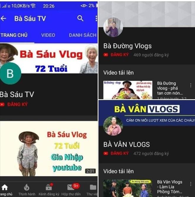 'Ba Tan Vlog' va cac kenh nong dan huong dan nau an bung no tren mang hinh anh 3