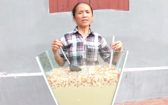 Video lam coc tra sua 'khong lo' hut 5 trieu view cua Ba Tan Vlog hinh anh