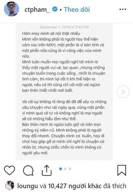 Huyme khang dinh khong yeu Han Hang, cam on ban gai cu Truc Anh hinh anh 1