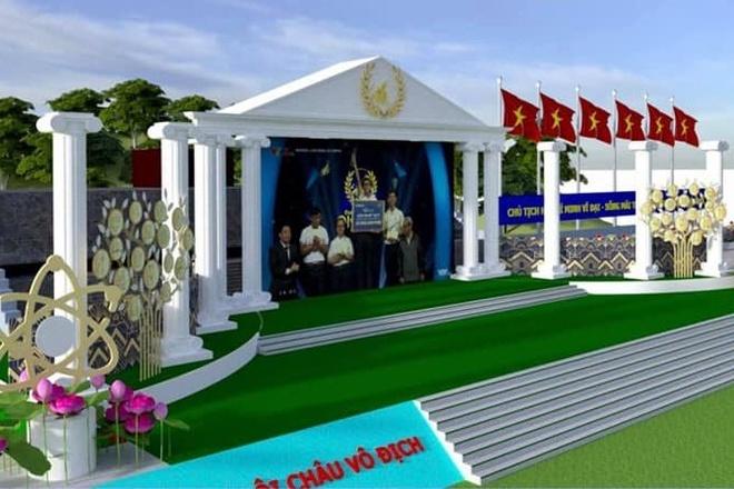 Điểm cầu Olympia tại Nghệ An có sân khấu hoành tráng, chứa 5.000 CĐV