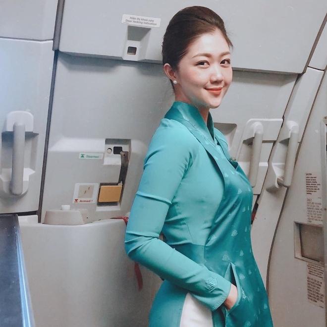 Hot girl nganh hang khong: Nguoi lay chong Tay, nguoi di thi hoa hau hinh anh 7