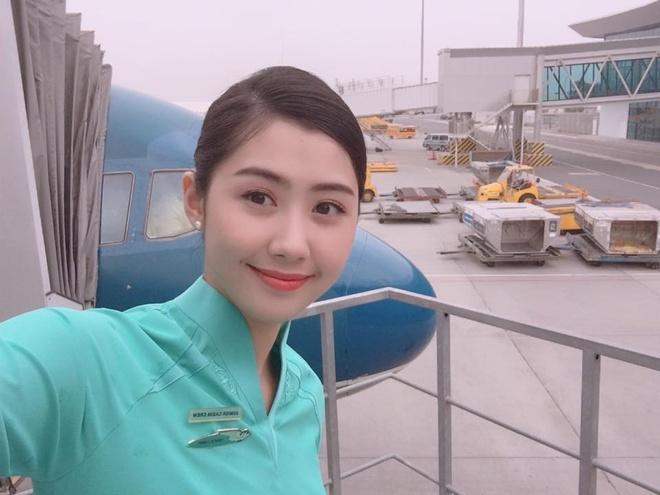 Hot girl nganh hang khong: Nguoi lay chong Tay, nguoi di thi hoa hau hinh anh 10