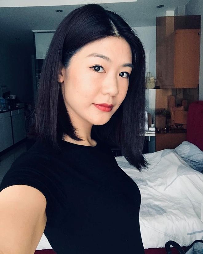 Hot girl nganh hang khong: Nguoi lay chong Tay, nguoi di thi hoa hau hinh anh 2