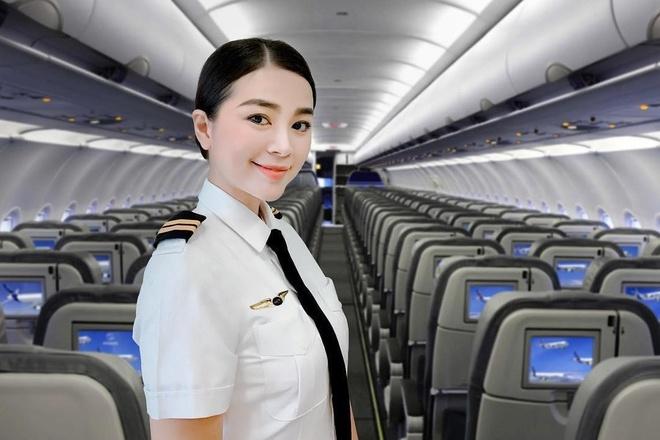 Hot girl nganh hang khong: Nguoi lay chong Tay, nguoi di thi hoa hau hinh anh 4
