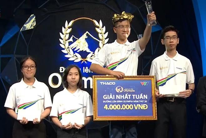 10X Quang Ninh lap ky luc dau tien tai 'Duong len dinh Olympia' nam 20 hinh anh 1