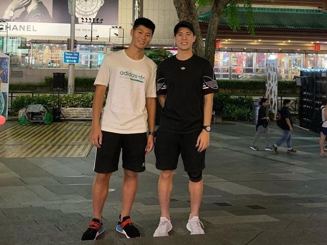 Anh trai Quang Hai lam tho xam, em Van Lam body 6 mui giong anh hinh anh 2