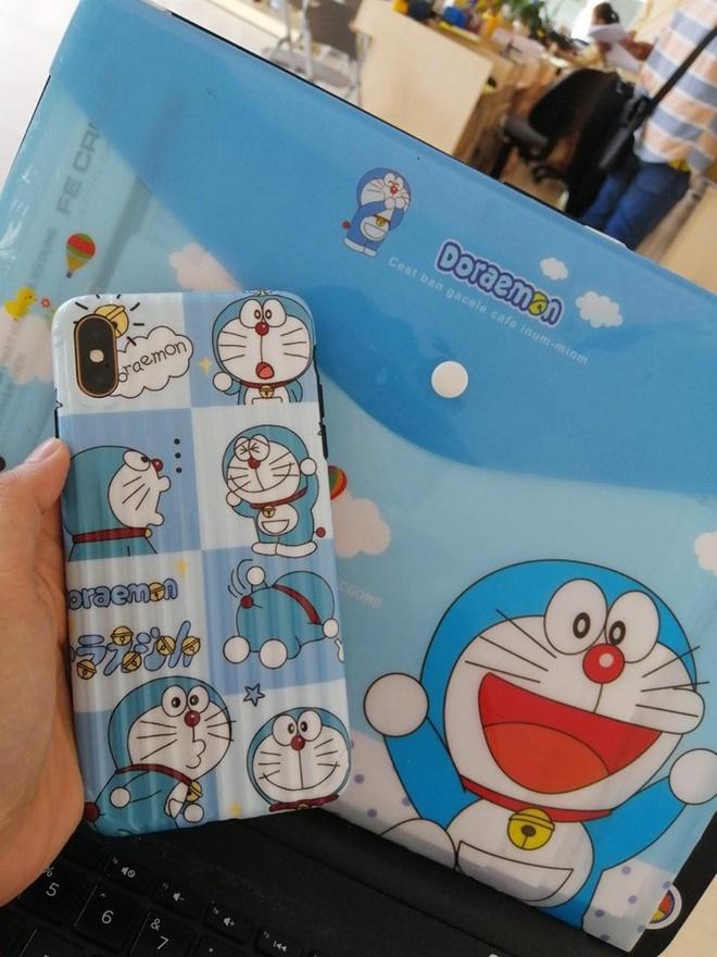 Co gai 27 tuoi thiet ke phong ngu ngap tran hinh Doraemon hinh anh 8
