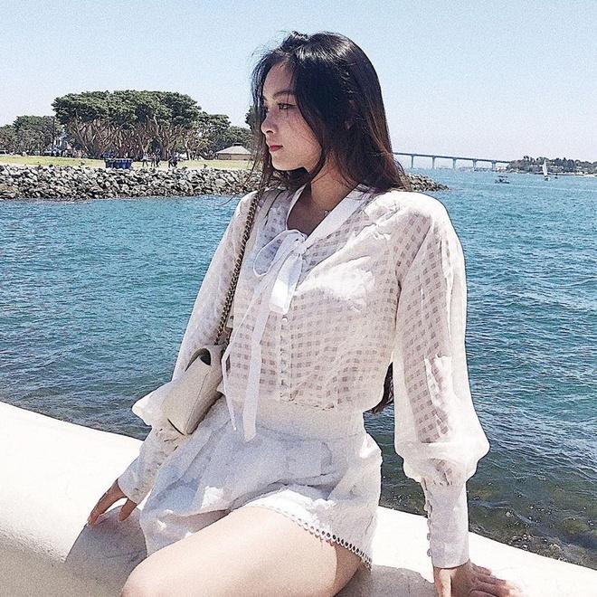 Hot girl Hai Phong nguoi la nang tho, nguoi streamer co style noi loan hinh anh 8
