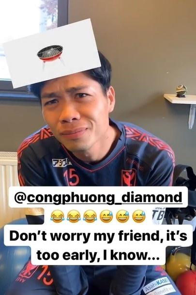 Cong Phuong ngo ngac khi choi do vui voi dong doi o Bi hinh anh 2