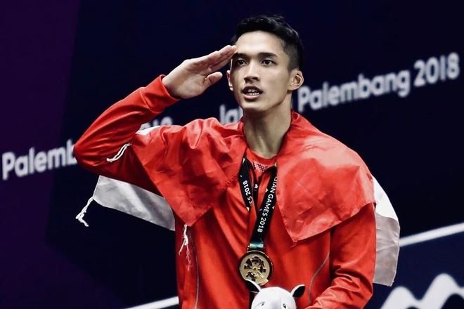 'Than dong cau long' cua Indonesia tai SEA Games 30 hinh anh 1