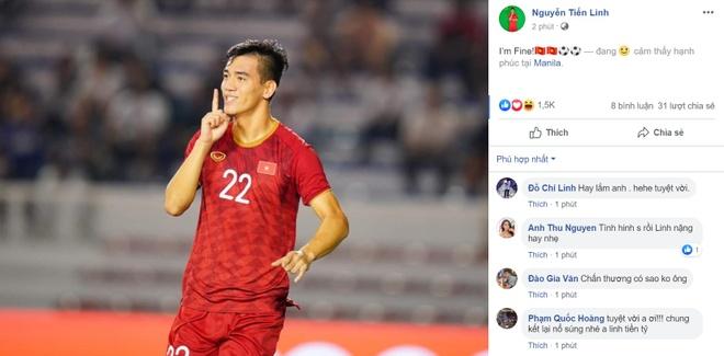 Tien Linh tran an CDV sau tran thang U22 Campuchia: 'Toi on' hinh anh 1