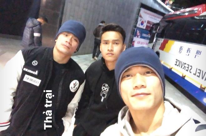 Dinh Trong, Hoang Duc va dan cau thu U23 di choi o Han Quoc hinh anh 3 040c967397a26efc37b3.jpg