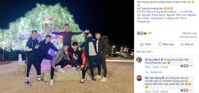 Dinh Trong, Hoang Duc va dan cau thu U23 di choi o Han Quoc hinh anh 1 Untitledsa.jpg