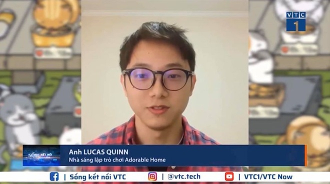 Lucas Quinn founder game Adorable Home surprised netizens