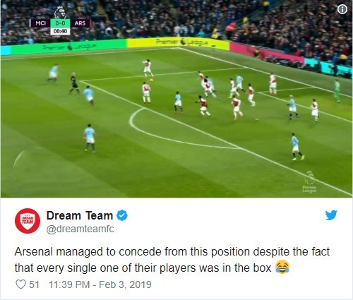 11 cau thu Arsenal trong vung cam khong the can Aguero ghi ban hinh anh 1