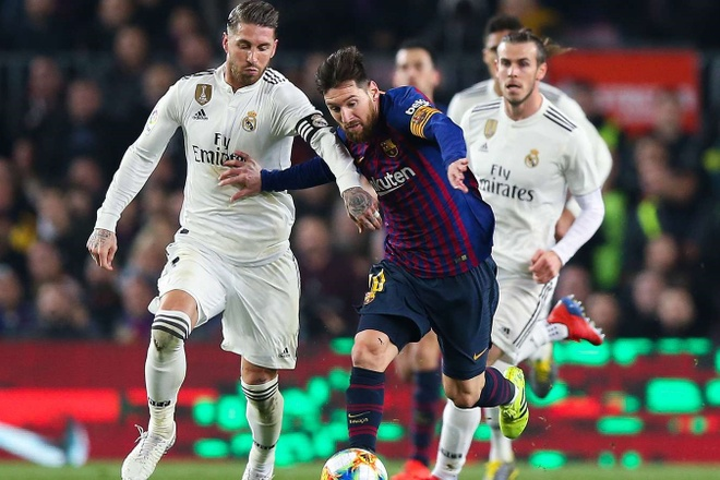 Messi,  El Clasico,  Barcelona,  Real Madrid anh 1