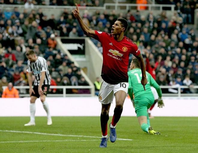 Man Utd vs PSG,  Champions League,  MU vao top 4,  Rashford anh 1